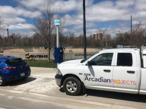 EV Charger - Arcadian Projects
