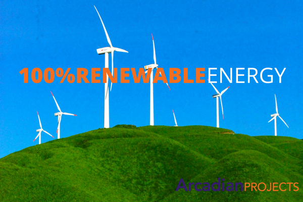 100% RENEWABLEENERGY