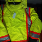 Winter High Visibility Safety Jacket